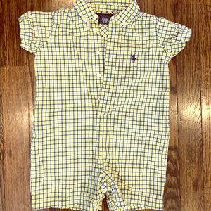 Ralph Lauren Baby Boy Oxford Shortall